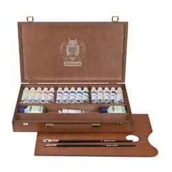 SCHMINCKE PRIMAcryl® Acrylfarben-Set im Holzkasten