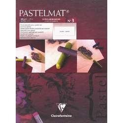 Clairefontaine PASTELMAT® Pastellblock, weiß