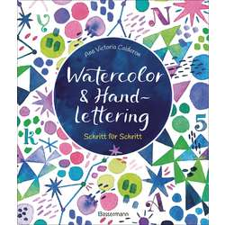 Watercolor & Handlettering - Motive aus der Tier- und Pflanzenwelt