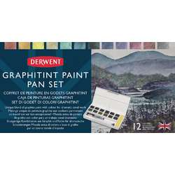 DERWENT Graphitint Paint Pan Aquarell-Set