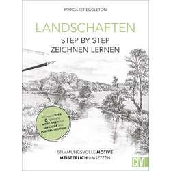 Landschaften Step by Step zeichnen lernen!