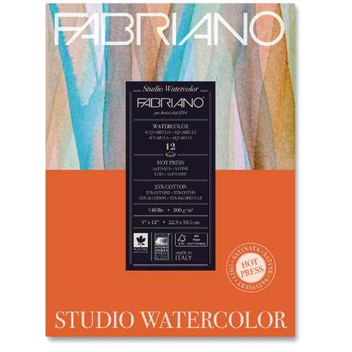 FABRIANO® Watercolour Studio, HOT PRESS