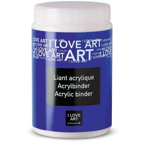 I LOVE ART Acrylbinder
