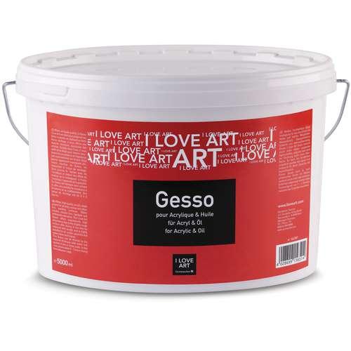 I LOVE ART Gesso Grundierweiß
