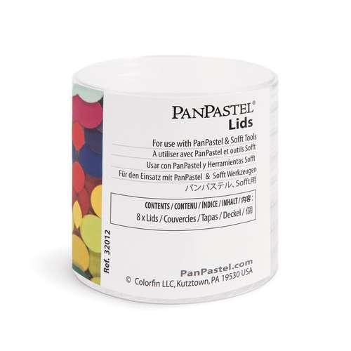 PANPASTEL® Deckel, 8 Stück
