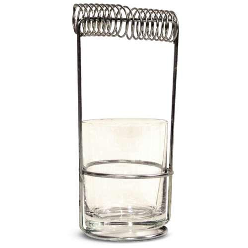 Pinselhalter mit Glas