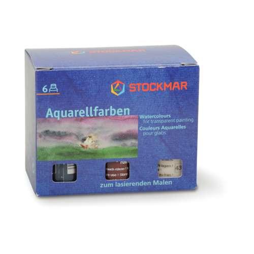 STOCKMAR Aquarellfarben Ergänzungs-Sortiment