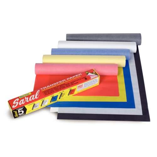 Saral® Wachsloses Grafit Transfer-Papier, farbig