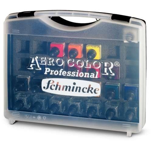 SCHMINCKE AERO COLOR® Professional Airbrushfarben-Set