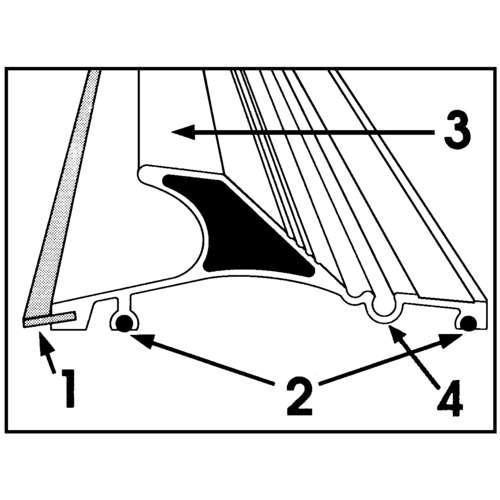 Maped® Schneidelineal Quadra