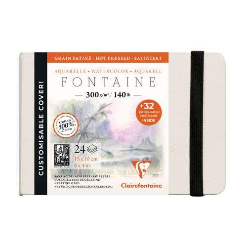CLAIREFONTAINE FONTAINE Aquarellbuch