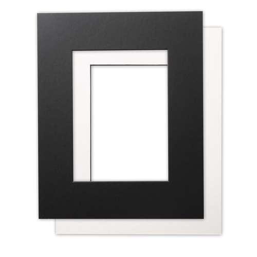 GERSTAECKER Galerie-Passepartout  mit schwarzem Kern