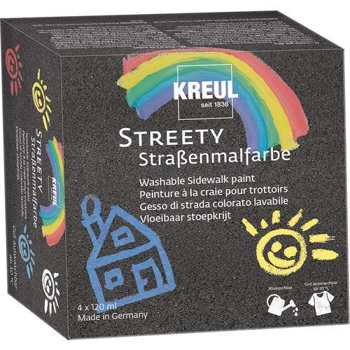 KREUL STREETY Straßenmalfarbe, Starter-Set