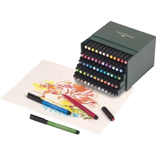 FABER-CASTELL PITT Artist Pen Brush Atelierboxen