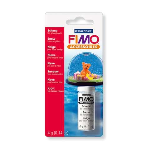 FIMO® Accessoires Schnee für Schneekugeln