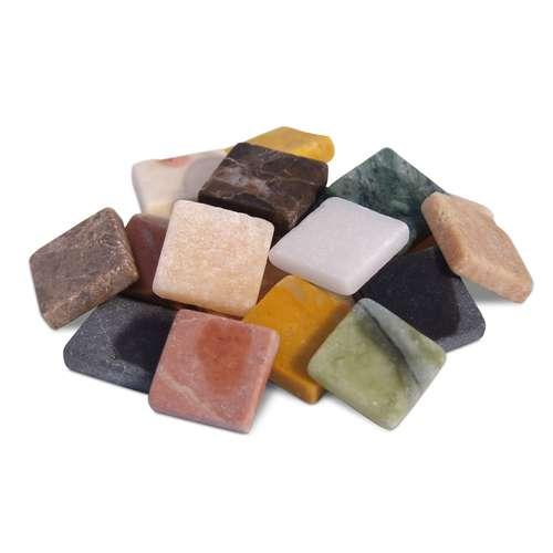 Mosaik aus Marmor, set