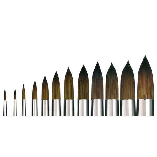 ISACRYL Serie 6512 Acrylpinsel, rund