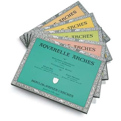 ARCHES® Aquarellkarton-Blöcke Aquarell-Büttenblock