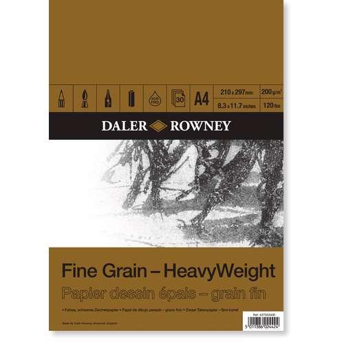DALER-ROWNEY Zeichenblock, 200g/qm