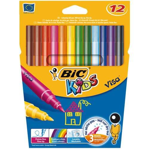BIC® KIDS Visa™ Fasermaler-Sets