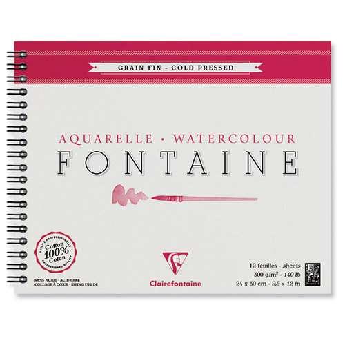 Clairefontaine FONTAINE Spiralblock, Feinkorn