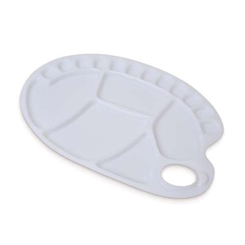 Kunststoffpalette oval Handpalette