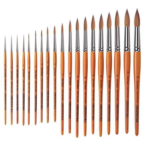 da Vinci Serie 1520 Rotmarder-Aquarellpinsel