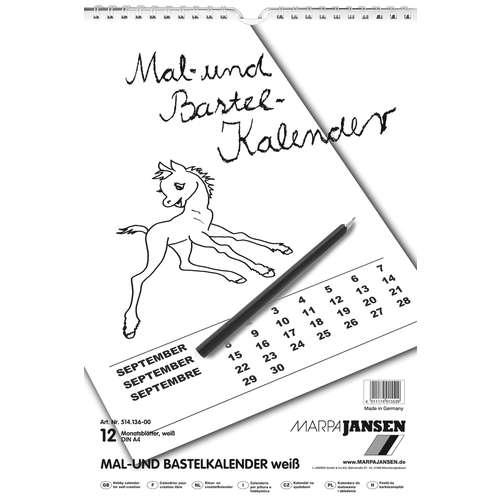 MARPA JANSEN Mal- und Bastelkalender