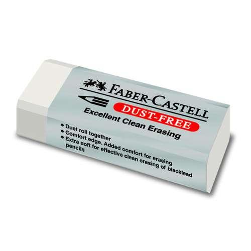 FABER-CASTELL DUST-FREE Radierer