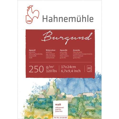 """Hahnemühle """"Burgund"""" Aquarellblock"""