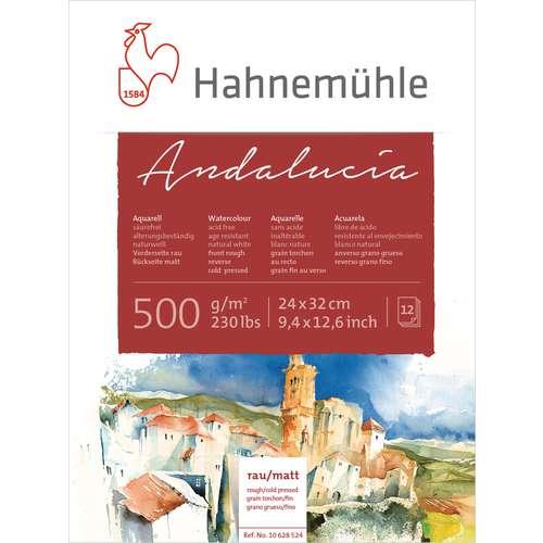 "Hahnemühle ""Andalucia"" Akademie-Aquarellkarton"