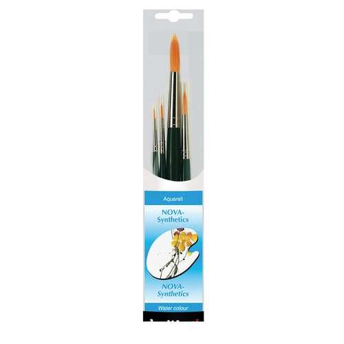 DA VINCI NOVA Synthetik-Malpinsel-Set, Serie 4219 Aquarellpinsel