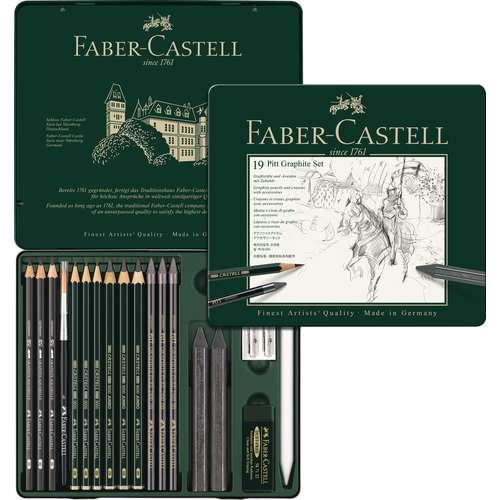 FABER-CASTELL PITT Graphite-Set medium