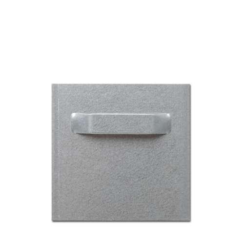 Ösenblech-Aufhänger für DIBOND®-Platten