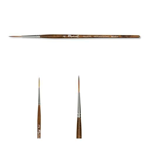 Raphaël® Precision Aquarellpinsel Serie 8514, Linierpinsel