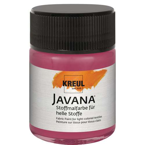 KREUL Javana Stoffmalfarbe für helle Stoffe