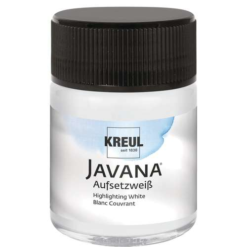 KREUL Javana Aufsetzweiß Seidenmalfarbe