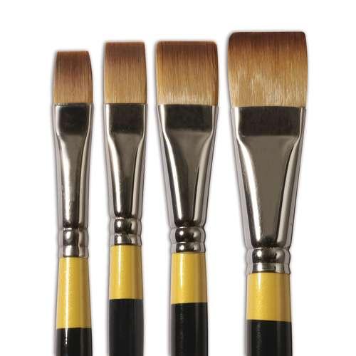DALER ROWNEY System3 Acrylpinsel Serie 55, flach & kurz