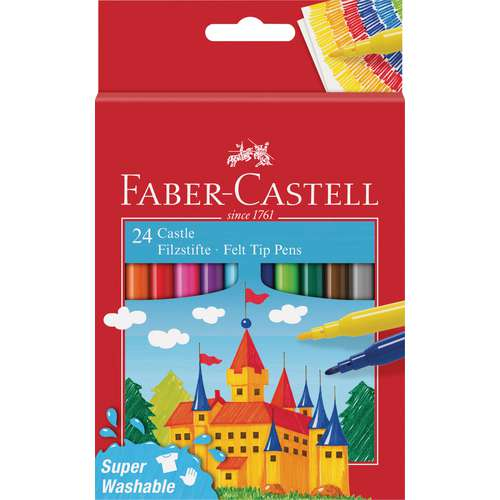 FABER-CASTELL Filzstifte-Set