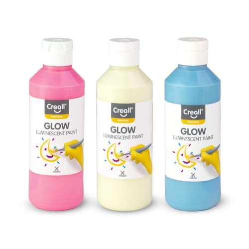 CREALL® Glow Fluoreszierende Leuchtfarbe