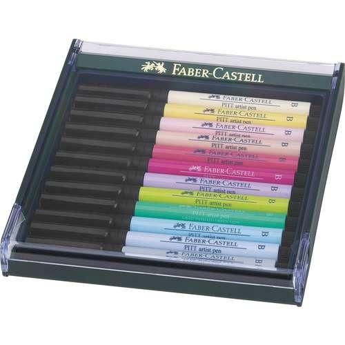 """FABER-CASTELL PITT® artist pen """"brush"""" 12er-Set"""