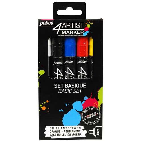 PÉBÉO 4Artist Marker-Set Basic