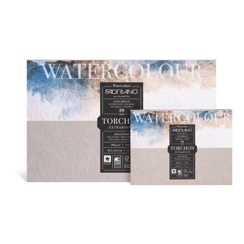 FABRIANO® Torchon Aquarellpapier Block
