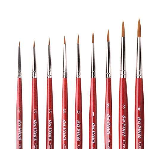 da Vinci COSMOTOP-SPIN, Aquarellpinsel Serie 5580, rund