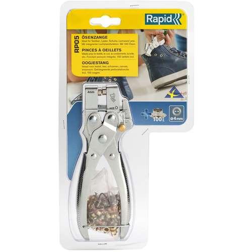 RAPID® RP05 Ösenzange + 100 Ösen