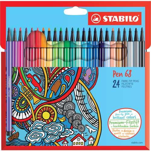 STABILO® Pen 68 Fasermaler Set