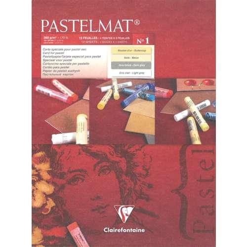 Clairefontaine PASTELMAT® Version 1 Pastellmalblock