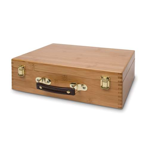 GERSTAECKER Materialkoffer aus Bambus