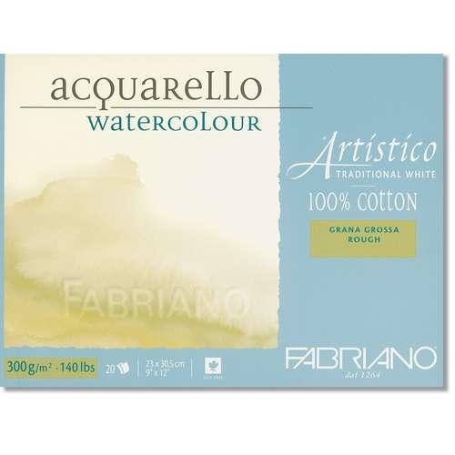 "FABRIANO® ""Artistico"", naturweiß Bütten-Aquarellkarton"