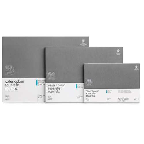 WINSOR & NEWTON™ 100% Baumwolle Aquarellkarton Professional, Blöcke und Bögen